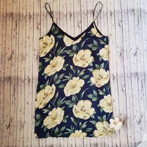 Lulu's • Floral Spaghetti Mini Dress
